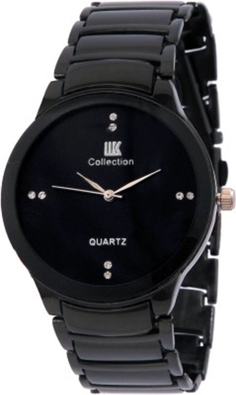 IIK Collection Rosra Concerd Mens Black Concerd Analog Watch