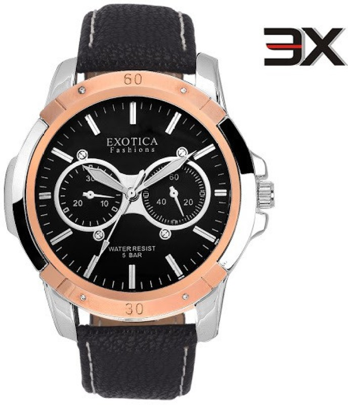 Exotica Fashions EFG 05 TT DM B New New Series Analog Watch Fo