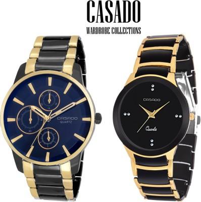 Casado C-146::756 Exotic Royal Look Analog Watch  - For Couple, Men, Women, Boys, Girls