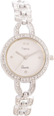 Tierra Ntgr006white Desire Series Analog Watch  - For Women, Girls