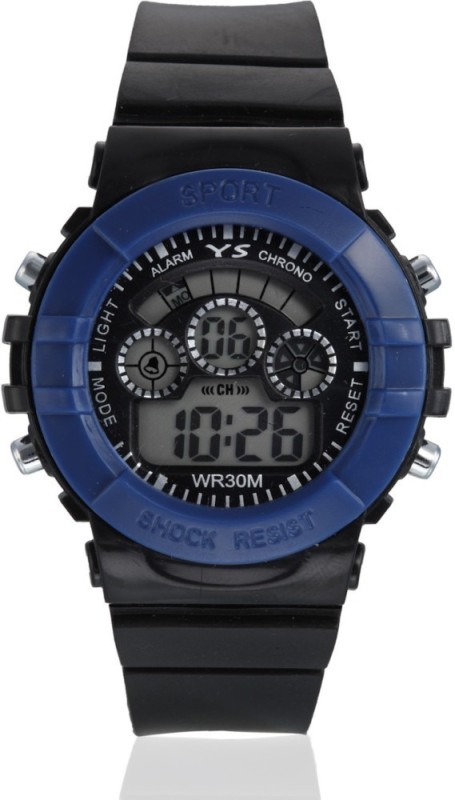 Style Feathers SF Sport Blue Digital Watch For Men