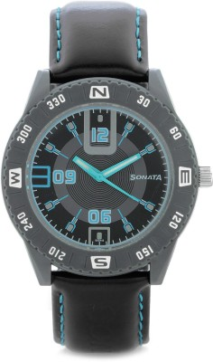 Sonata 7984PP02J Analog Watch  - For Men