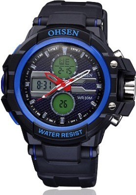 Ohsen AJAD1306-4 Analog-Digital Watch  - For Men