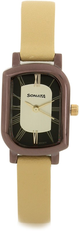 Sonata NG87001QL01 Analog Watch For Women