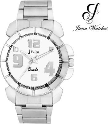 Jivaa JV-9081 Silver Essentials Analog Watch  - For Men, Boys