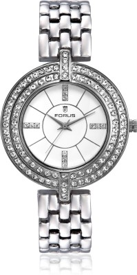 FORUS FRS15179 Sparkle Analog Watch  - For Women
