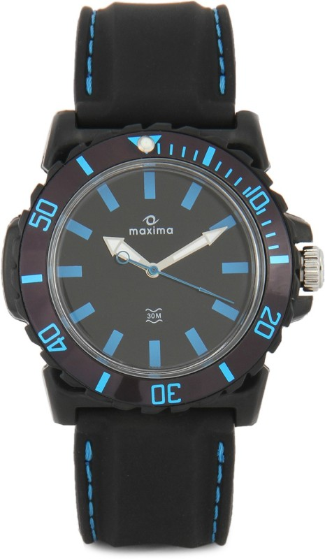 Maxima 29747PPGW Hybrid Analog Watch For Men