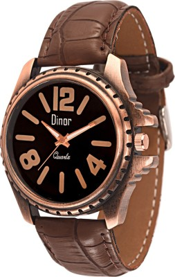 Dinor ck-8005 Tagged Analog Watch  - For Men, Boys