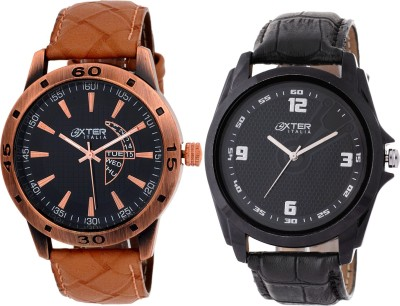 Oxter Antique Aq22-1 Combo Analog Watch  - For Men