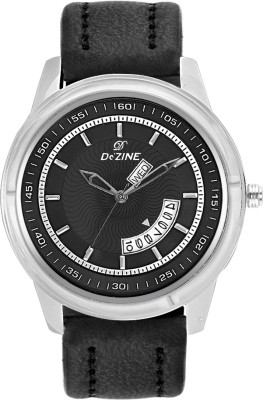 Dezine DAY AND DATE DISPLAY-GR1032BLK Analog Watch  - For Men