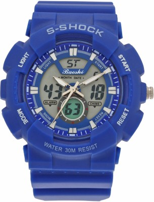 Hala Blue Button Analog-Digital Watch  - For Boys, Men