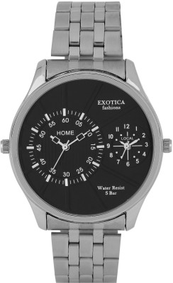 Exotica Fashions EF-71-Dual-ST Basic Analog Watch - For Men