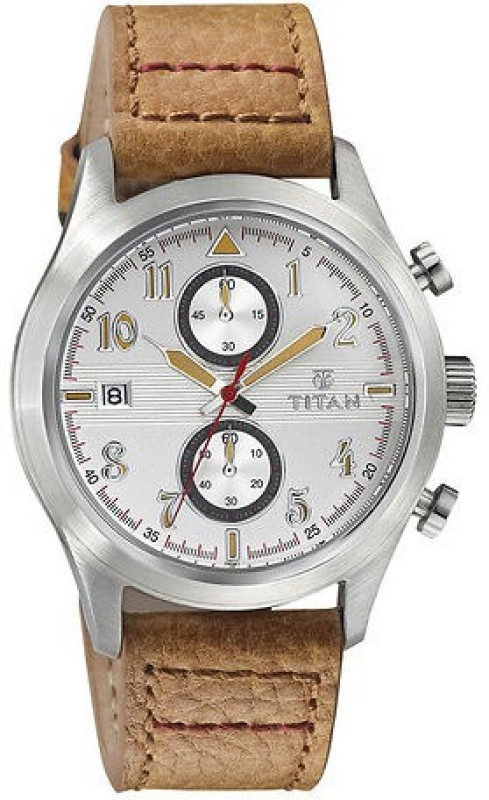 Titan 90052SL01 Analog Watch For Men