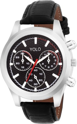 Yolo YGS-036BK Analog Watch  - For Boys, Men