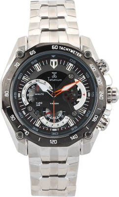 Tietanium AT9007BKW Youth Series Analog Watch  - For Boys, Men