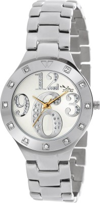 Ilina ILS1SS369WHT Analog Watch  - For Women