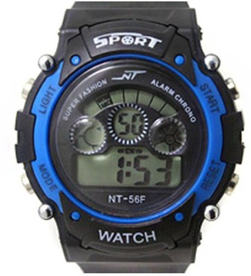 Crazeis WT-MDCH2BL Digital Watch  - For Girls
