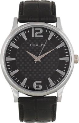 Texus TXMW64Rubberstrap Analog Watch  - For Men, Boys