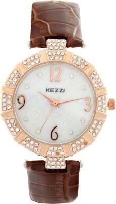 Kezzi JW041BR Decker Analog Watch  - For Women