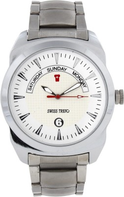 Swiss Trend Artshai1617 Full Metal Analog Watch - For Men