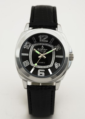 Royal County Of Berkshire Polo Club PL659.1Blk Analog Watch  - For Women