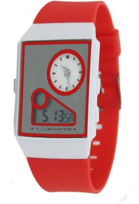 Kokan Planet Digital Dual Time 498 Analog-Digital Watch  - For Girls