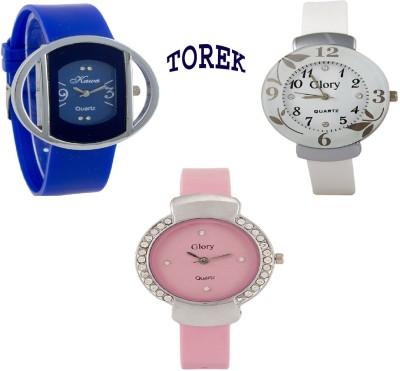 TOREK Trendy Look Combo159 Analog Watch  - For Women, Girls