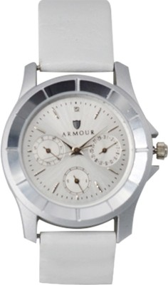 Armour LLM01 White Analog Watch  - For Women
