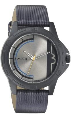 Sonata NH77018PL02CJ Analog Watch - For Women