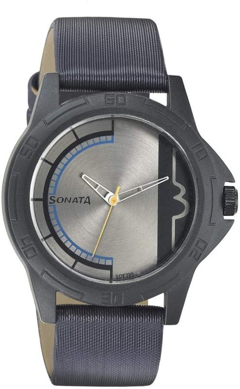 Sonata NH77018PL02CJ Analog Watch For Women
