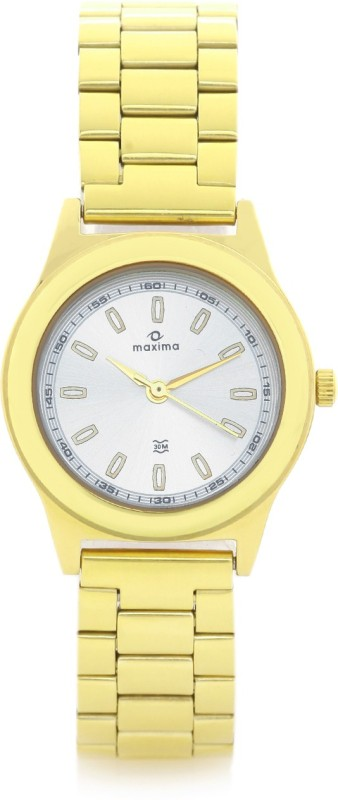 Maxima 34803CMLY Analog Watch For Women