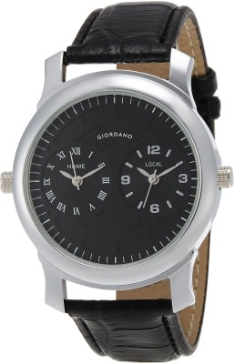 Giordano 60062 Blk Analog Watch - For Men