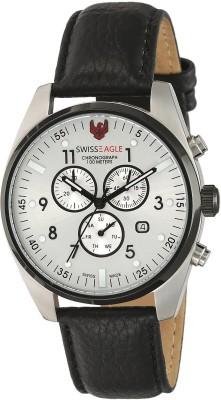 Swiss Eagle SE-9069-01 Analog Watch  - For Men