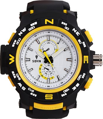 SIDVIN AT6051YLW Youth Series Analog Watch  - For Boys, Men