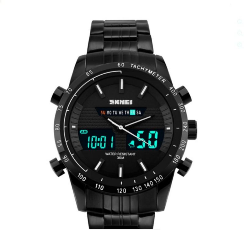 Skmei GM1311WHT LCD Analog Digital Watch For Men