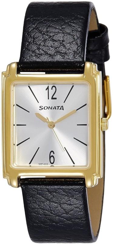Sonata 7053YL07 Analog Watch For Men