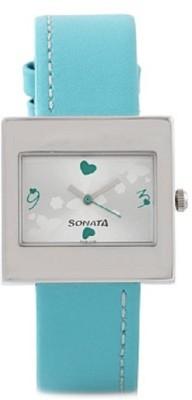 Sonata yuva steel Analog Watch - For Women, Girls