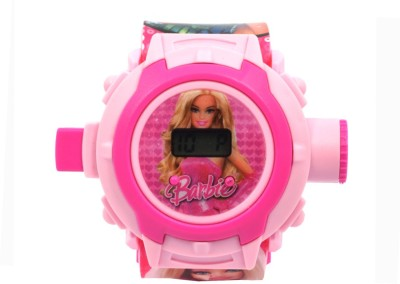 TCT BARBIE PROJECTOR Digital Watch  - For Girls, Women