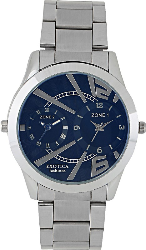 Exotica Fashions EXZ 90 Dual Basic Analog Watch For Men