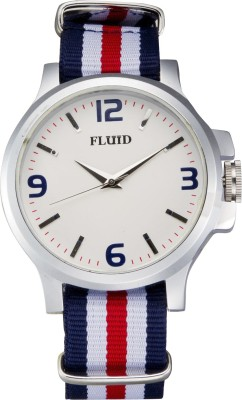 Fluid FL-129-WH02 Analog Watch  - For Men