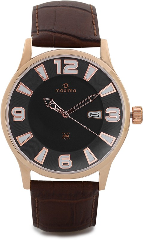 Maxima 31650LMGR Attivo Analog Watch For Men
