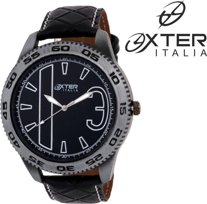 Oxter Brown Classic Impact Antique Collection Analog Watch For