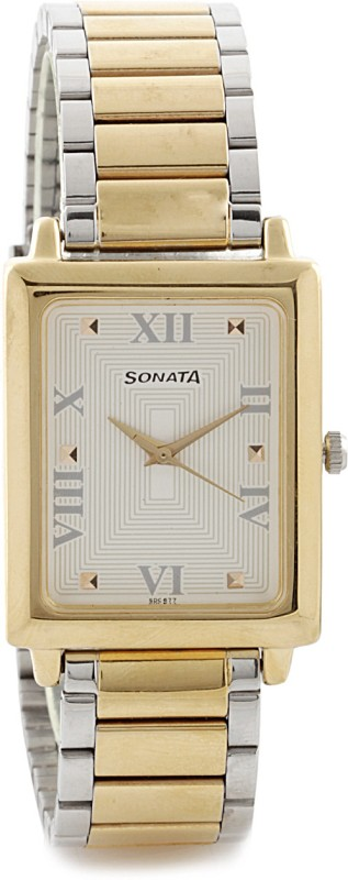 Sonata NG7078BM01C Analog Watch For Men