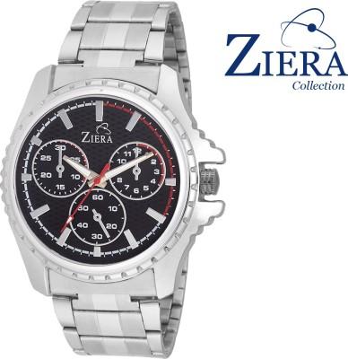 Ziera ZR2655 BLACK Analog Watch Analog Watch  - For Boys, Men