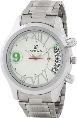 Wrab 9-wht-daysname Analog Watch  - For Men