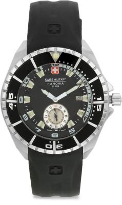 Swiss Military 495/595 BLK/BLK RUB SPORTS MULTIFUNCTIONL Analog Watch  - For Men