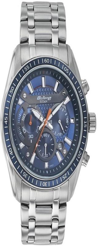 Titan 90077KM02J Analog Watch For Men