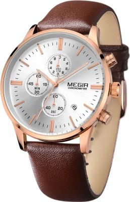 Megir 2011-RG-L Analog Watch  - For Men