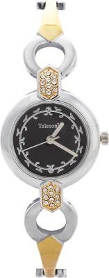 Telesonic GCI-016(Black) Integrity Series Analog Watch  - For Women