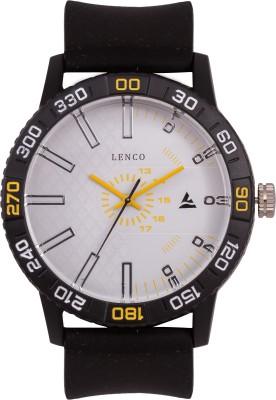 Lenco MACHORWDYLW Macho Analog Watch  - For Boys, Men